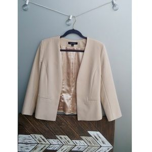 Ellen Tracy Cream Blazer